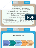 PPT Perencanaan PLTMH