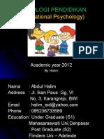 Introduction & Konsep Psikologi Pend
