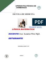 Lógica Matemática Unidad i y II Marzo 2015