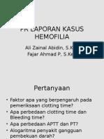 Pr Laporan Kasus Hemofilia