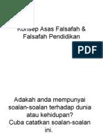 Kuliah 2- Konsep Asas Falsafah & Falsafah Pendidikan.ppt
