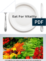 Eat for Vitality