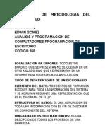 Resumen de Metodologia Del Desarrollo