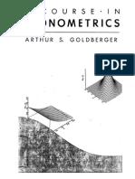 Arthur S. Goldberger - A Course in Econometrics