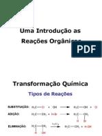 Reações químca orgânica
