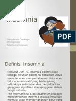 Referat Insomnia