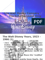 Walt Disney Entertainment King Case