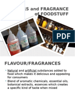 Flavors and Fragrance of Foodstuff