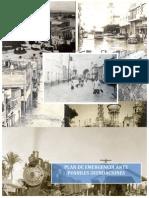 Plan de emergencia ante posible inundación