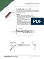 AFL Fiber Optic Hardware OPGW