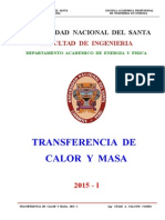 Transf. Calor y Masa - Unidad - II - Sesion Nº 2