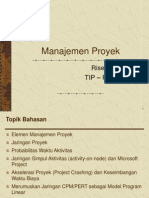 Pertemuan Ke 17 Manajemen Proyek