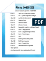 Pqp vs ISO 9001 Clauses List