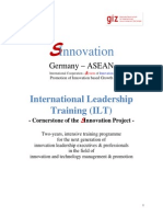 SInnovation Invitation Letter ILT Programme