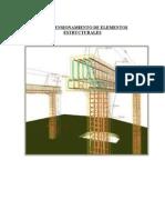 Predimensionamiento de Elementos Estructurales de 10