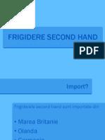 Frigidere second hand Iasi