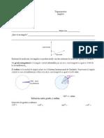 Actividades de Trigonometría Parcial 1