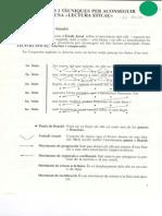 Principis i Tècniques Per a Una Lectura Eficaç