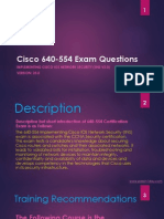 Cisco 640-554 Exam Sample Questions