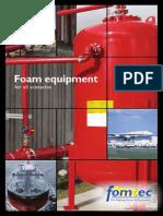 Fomtec Foam Equipment Brochure