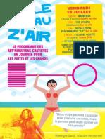 Programme BULLE D EAU Z AIR