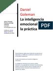 GOLEMANinteligencia emocional practica