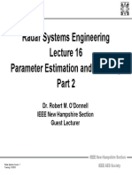 Radar 2009 A_16 Parameter Estimation and Tracking Part2