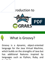 Introduction to Groovy and Grails - SpringPeople