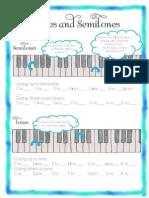 Tones and Semitones