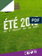 France Culture, dossier de presse été 2015