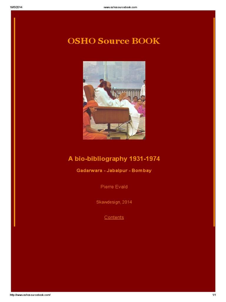 Osho source book rajneesh truth geenschuldenfo Image collections