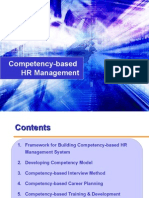 CITEHR Competency Based HR Management