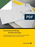 Dp Automationsfaehige Briefsendungen 2013