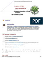 Sustainable Urban Development and Emerging Professions - Wersja Do Druku