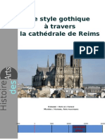 3HIDA Art Gothique Cathédrale de Reims