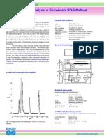 Histamin analysis