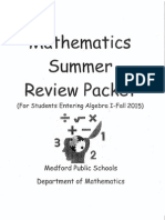 Mathematics Summer Review Packet for 8th Grade Students Entering Algebra I-Fall 2015.pdf