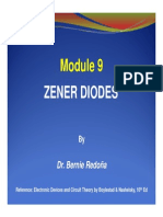 ECE101 Modules 9 Zener Diodes