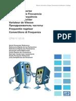 WEG CFW11M Referencia Rápida de Parámetros