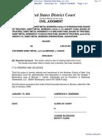 Bd. of Trustees, Sheet Metal Workers Local #112 et al v. Statewide Sheet Metal, LLC, et al - Document No. 13