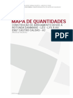00 Mapa de Quantidades Antonio Caldas