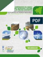 Analisis Comparativo Del Marco Regulatorio Incentivos y Sistema Tarifario de Precios Existentes Para La CompraGeneracion de Electricidad de Plantas de Energia Renovable en Centroamerica y Panama