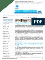 Current Affairs April 2015