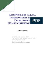 1985-07-Xx - Manifiesto de La Liga Internacional de Los Trabajadores