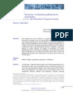 Mímesis y Phrónesis