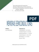 Informe de Memorias Semiconductoras
