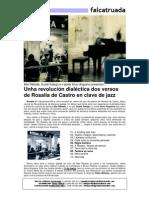 Unha Revolución Dialéctica Dos Versos de Rosalía