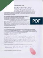Scheriff von Graz - Lebenderklärung