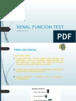 Renal Funcion Test