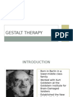 Gestalt Therapy (Counseling)